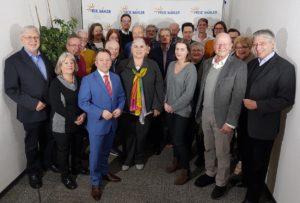 FREIE WÄHLER Koblenz mit starker Liste zur Kommunalwahl 2019