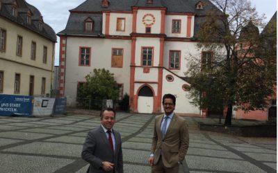 """""""Bürresheimer Hof"""" als möglicher neuer Standort für das Stadtarchiv"""